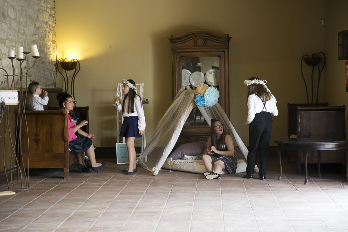 actividades entretener niños boda